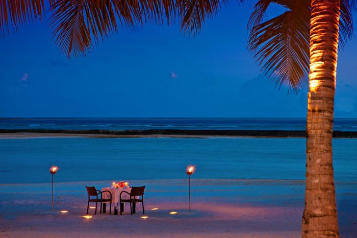 3 nights Water Bungalow with Pool- Sheraton Maldives Full Moon Resort and Spa for Indian